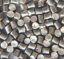 Carbon steel cut wire shot for cleaning and peening